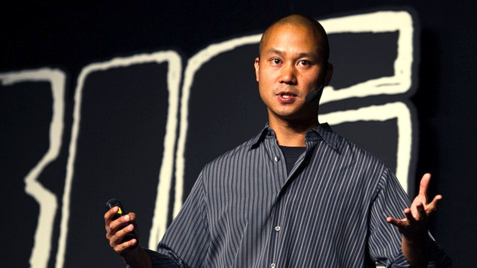 Delivering Happiness author, Tony Hsieh